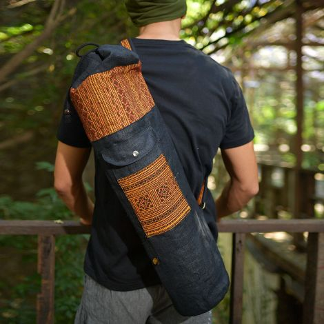 Yoga Mat Hemp Bag Bhakti lui
