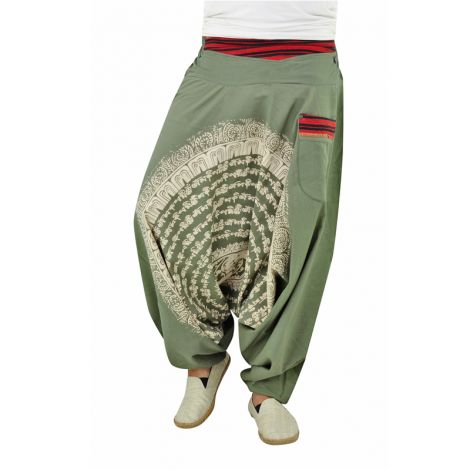 Genie pants Nirvana green