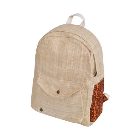 Hemp Backpack Weltenbummler beige